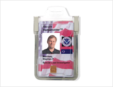 shielded secure badge holders