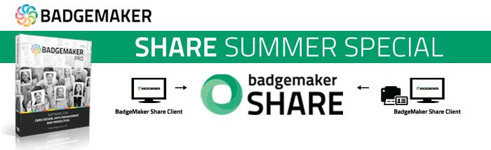 BadgeMaker Share Summer Special