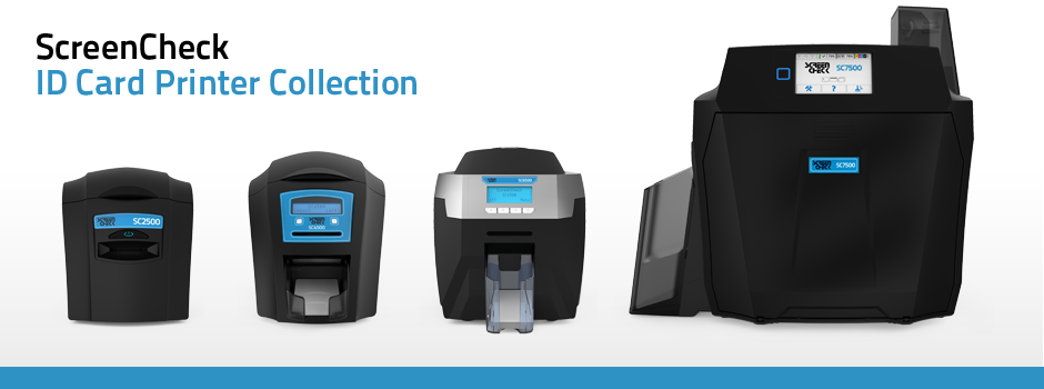 The ScreenCheck ID Card Printer Collection