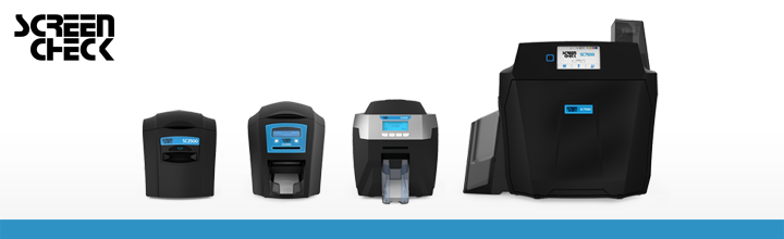 ScreenCheck introduces the new ScreenCheck</br>ID Card Printer Collection